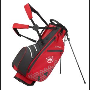 Wilson Wilson Staff Dry Tech II  Waterproof Standbag - Rood Zwart