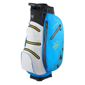 Wilson Staff Dry Tech II Waterproof Cart bag - Royal White Black