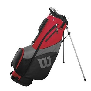 Wilson ProStaff SGi Standbag - Zwart Rood
