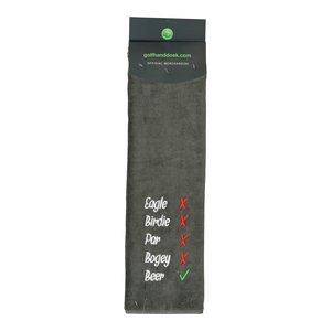 Nova Golf Nova Golf 'Eagle Birdie Bear' Golf Towel - Grey