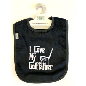 VIB 'I Love My Golffather' Slab -Zwart