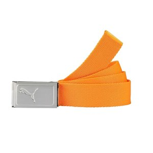 Puma Youth Works Web Belt Junior Broekriem - Oranje