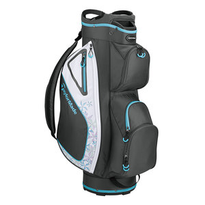 TaylorMade Kalea Ladies Cartbag 2019 - Charcoal Blauw