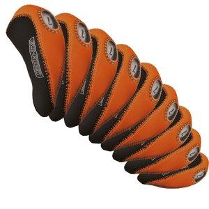 Longridge Eze Headcoverset Voor IJzers - Oranje Zwart