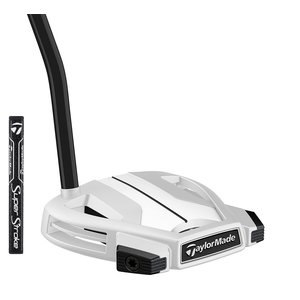 TaylorMade TaylorMade Spider X Single Bend White Putter 2019 - Chalk