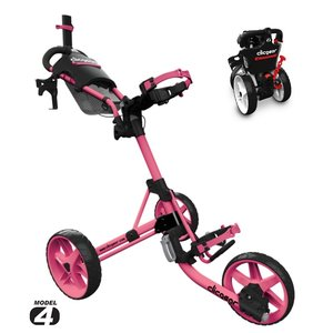 Clicgear 4.0 Golftrolley 2019 - Soft Pink