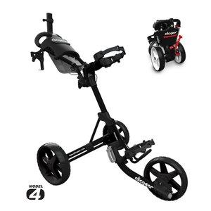Clicgear Clicgear 4.0 Golftrolley 2019 - Zwart