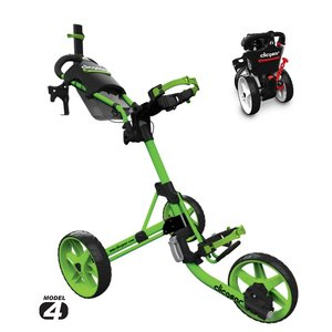 Clicgear Clicgear 4.0 Golftrolley 2019 - Lime