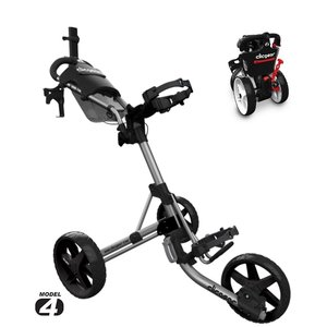 Clicgear 4.0 Golftrolley 2019 - Silver