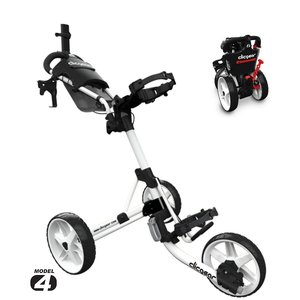 Clicgear 4.0 Golftrolley 2019 - White