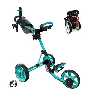 Clicgear 4.0 Golftrolley 2019 - Soft Teal