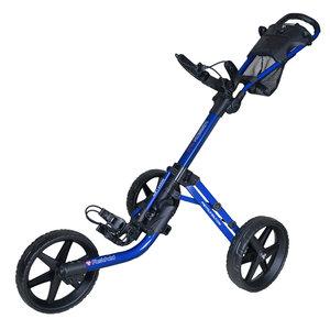 FastFold Mission 5.0 Golftrolley - Donkerblauw Zwart