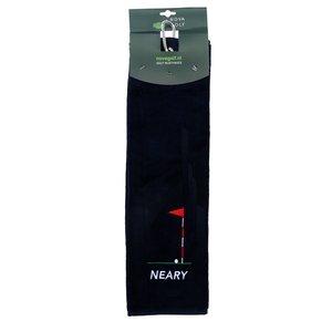 Nova Golf 'Neary' Golfhanddoek - Donkerblauw