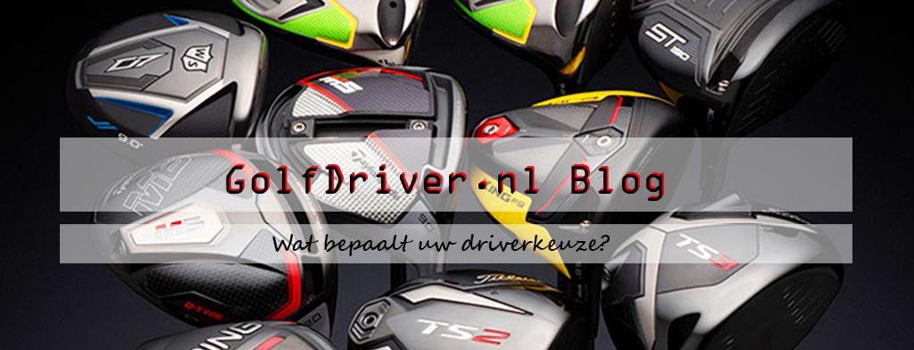 Wat bepaalt uw driverkeuze?