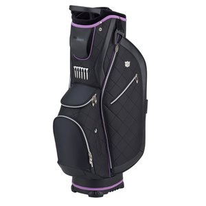Wilson Staff Ladies  Cartbag 2020 - Zwart Paars