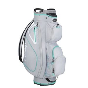 TaylorMade Kalea Ladies Cart bag 2019 - Silver Green