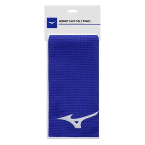 Mizuno Cart Golf Handdoek 60x40 cm - Blauw
