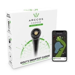 Arccos Lamkin CrossLine 360 Standard Grips With Caddy Smart III Sensors (Set 14 Pieces)