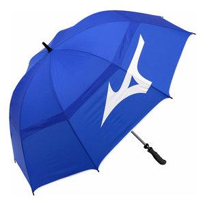 Mizuno Tour 55 inch Twin Canopy Staff Golfparaplu 2020 - Blauw Wit