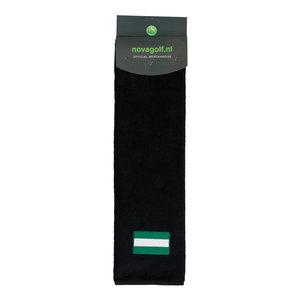 Nova Golf 'Flag of Rotterdam' Golf Towel - Black