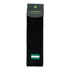 Nova Golf Nova Golf 'Flag of Rotterdam' Golf Towel - Black