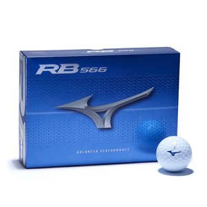 Mizuno RB566 Golf Balls 2020 - Dozen / 12 Pack - White
