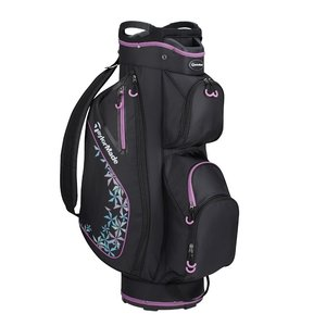 TaylorMade TaylorMade Kalea Ladies Cart Bag - Black Grey Violet