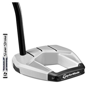 TaylorMade Spider S Single Bend Putter 2020 - Chalk