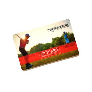 GolfDriver.nl GiftCard Met GolfDriver.nl Shoptegoed