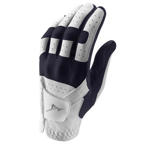 Mizuno Stretch Golf Glove Ladies - White Blue (Right Handed Golfers)