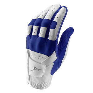 Mizuno Stretch Golfhandschoen Men - Blauw Wit (Rechtshandige Golfers)