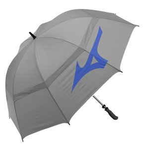 Mizuno Tour 55 inch Twin Canopy Staff Golf umbrella 2020 - Grey Blue