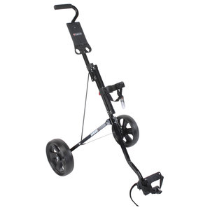 FastFold Junior 2-Wiels Golftrolley - Zwart