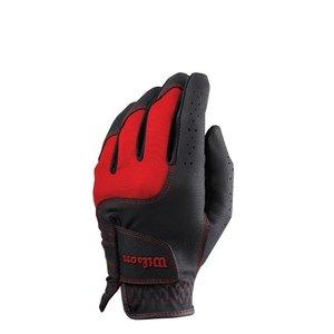Wilson Wilson Junior Golf Glove - Black Red (Right Handed Golfers)