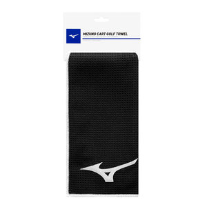 Mizuno Mizuno Cart Golf Towel 60x40 cm - Black