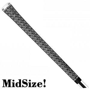 GolfPride Z-Grip MIDSIZE Grip - Zwart Wit