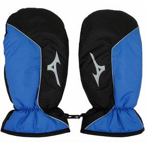 Mizuno Winterhandschoenen Mitts - Blauw Zwart