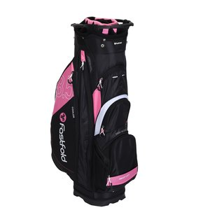 FastFold Ladies CB Cartbag - Zwart Roze