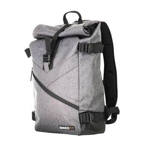 Sinner Sinner Alyeska Roll Top Backpack - Grey