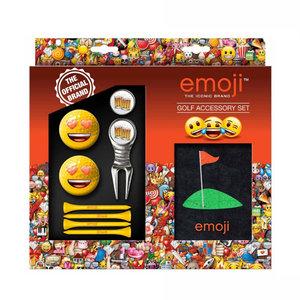 Second Chance Emoji Golf Accessories Set - Love