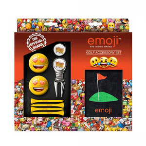 Second Chance Second Chance Emoji Golf Accessoires Set - Love