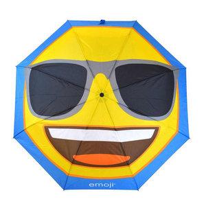 Second Chance Second Chance Emoji Golf Umbrella - Cool Smiley