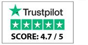 Topscore op Trustpilot