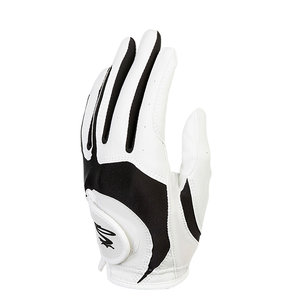 Cobra Cobra Microgrip Flex Junior Golf Glove 2019 - White Black (Right Handed Golfers)