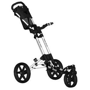 FastFold Flex 360 Golftrolley - Wit Zwart