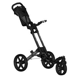 FastFold FastFold Flex 360 Golftrolley - Charcoal Zwart