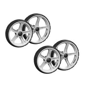 Clicgear Clicgear Wielenset Voor Clicgear 8.0 Trolley (4 wielen) - Wit