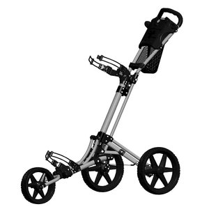 FastFold FastFold Trike 2.0 Golftrolley - Grijs Zwart