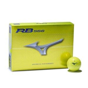 Mizuno Mizuno RB566 Golf Balls 2020 - Dozen / 12 Pieces - Yellow