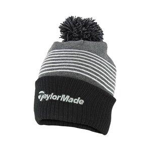TaylorMade TaylorMade Bobble Beanie 2020  - Zwart Grijs Wit